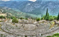 Ancient Theatre in Delphi