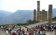 Apollo Temple in Delphi